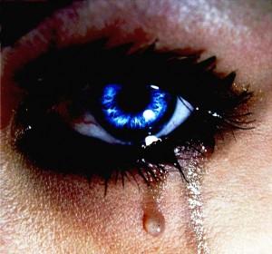 Tristesse craque pleurs