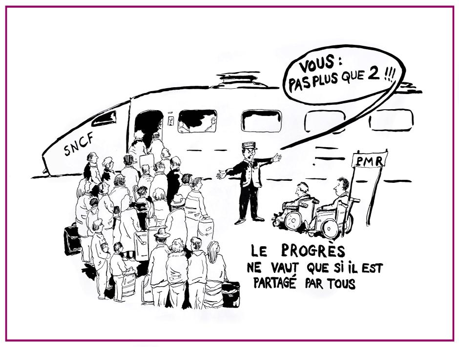 SNCF - Lourdes dans Coups de