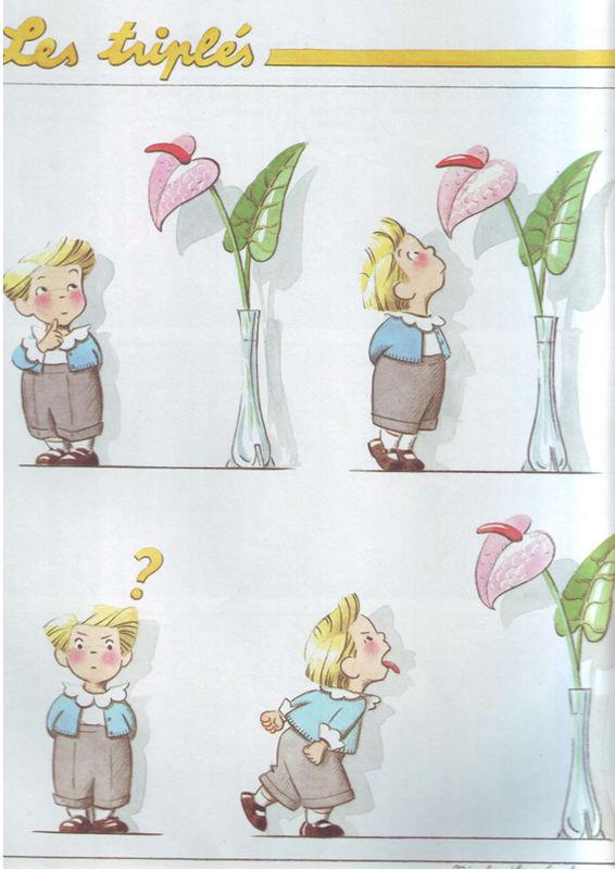 Les Triplés - tirer la langue dans dessins/images 83fddb6e