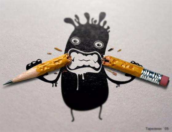 colère furieuse pas contente combat méchant administration papier