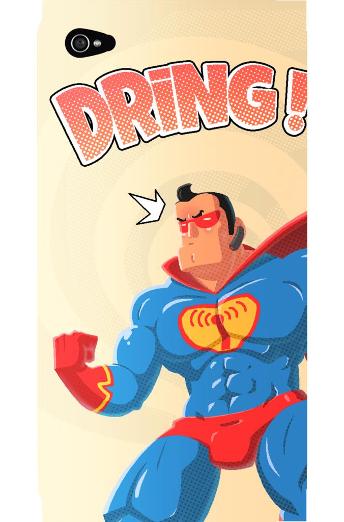 Copaxone copain qui sonne superman poussée SEP