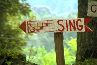 sing dans Pensées musicales