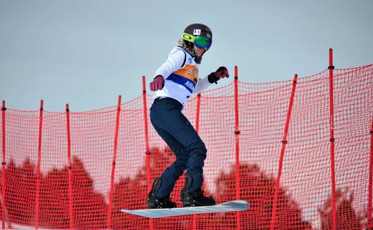 Cécile hernandez sep snowboard