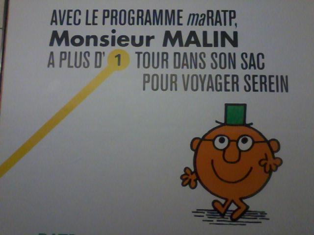 RATP M.Malin