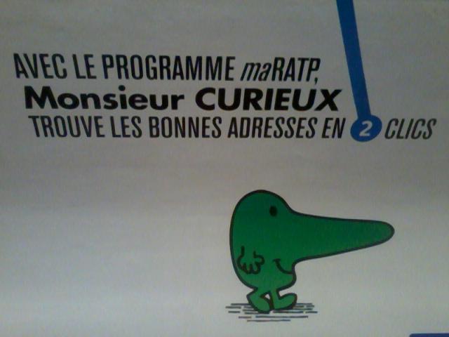 RATP M.Curieux